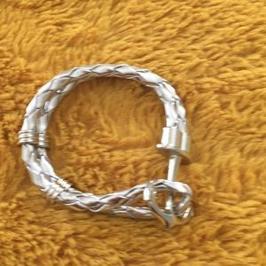 Anchor Toggle Bracelet
